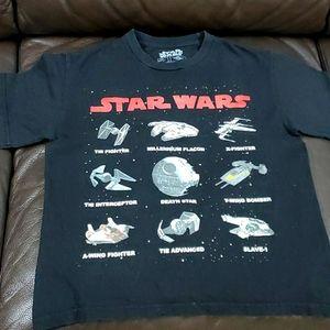 Boys 8 star wars t-shirt